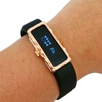 Funktional Wearables The Protective FRAME COVER for Fitbit Alta/Alta HR in Rose Gold