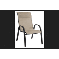 Living Accents Steel Stackable Chair