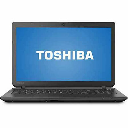 Refurbished Toshiba Jet Black 15 6   Satellite C55d B5206 Laptop Pc With Amd A8 6410 Quad Core Processor  4Gb Memory  750Gb Hard Drive And Windows 8 1  Eligible For Free Windows 10 Upgrade