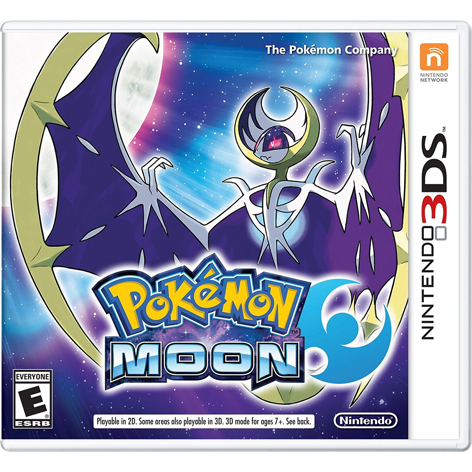 Pokemon Moon, Nintendo, Nintendo 3DS, [Digital Download], 0004549668115