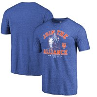 New York Mets Fanatics Branded MLB Star Wars Join The Alliance Tri-Blend T-Shirt - Royal