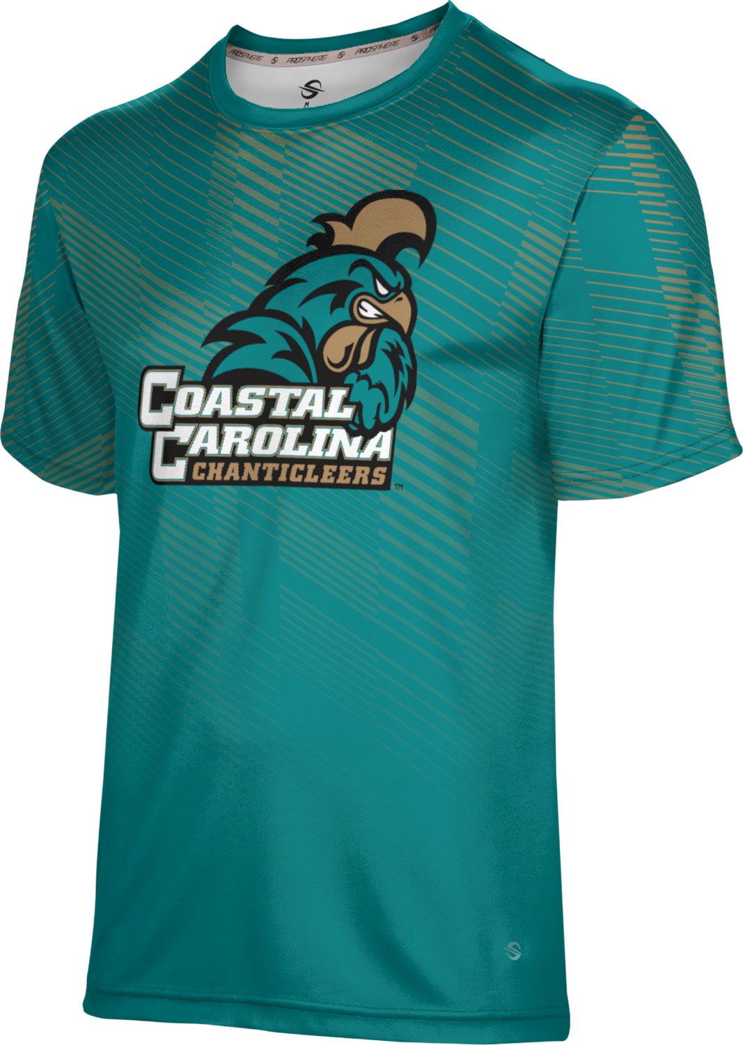 ProSphere Boys' Coastal Carolina University Bold Tech Tee