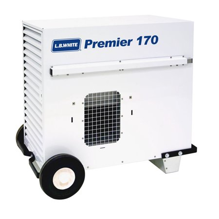 L.B. White TS170 Premier 170 Portable Forced Air Ductable Propane Tent Heater