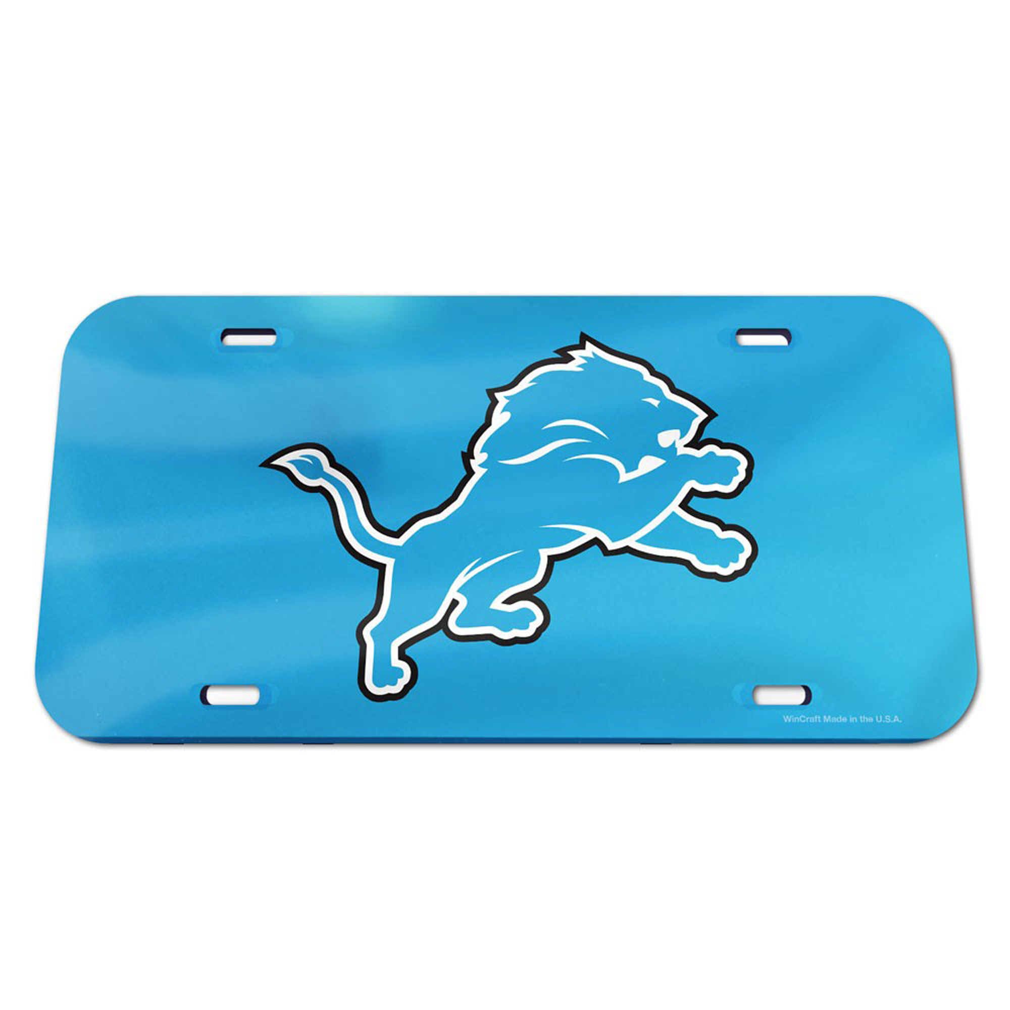 Detroit Lions WinCraft Logo Crystal Mirror License Plate - No Size
