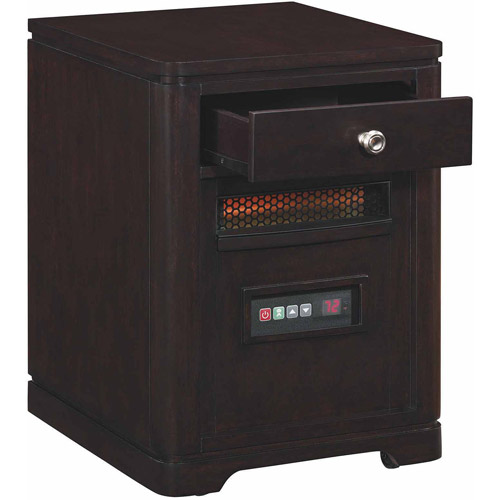 ***DNP***Duraflame Heater End Table, Espresso