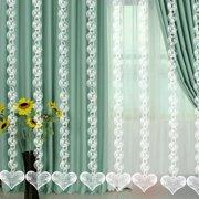 Gobestart DIY Wedding Decor Diamond Curtain Acrylic Crystal Beaded Curtain