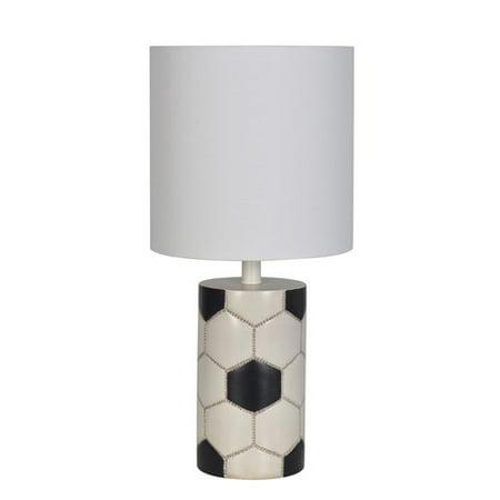 Harriet Bee Estela 19 Soccer Ball Table Lamp Set