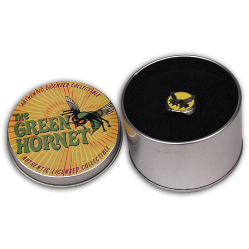 Green Hornet Ring in Collectible Tin