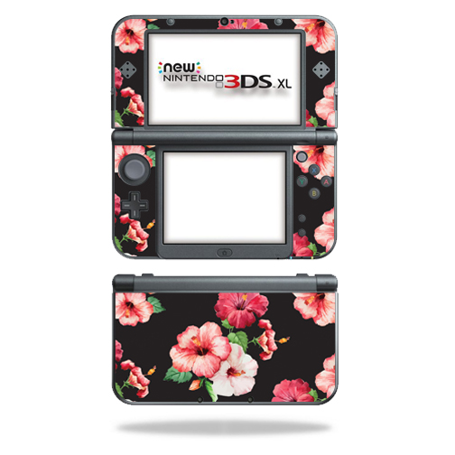 MightySkins Protective Vinyl Skin Decal for New Nintendo 3DS XL (2015) Case wrap cover sticker skins Hibiscus