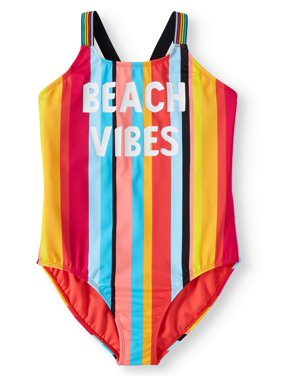 b04ad1e21a Product Image Beach Vibes One-Piece Swimsuit (Little Girls