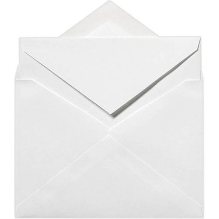- 4 3/4 x 6 1/2 Outer Invitation Envelopes - 70lb. Bright White (50 Qty.)