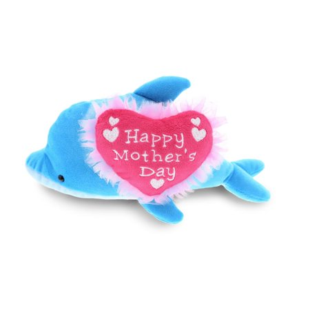 Dollibu Happy Mother's Day Stuffed Animal, Mom Heart Message Teddy - (Happy Mothers Day To All Mothers Messages)