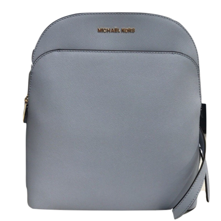 95dd1f1e6a6d MICHAEL Michael Kors - Michael Kors Emmy Large Saffiano Leather Backpack - Pale  Blue - Walmart.com
