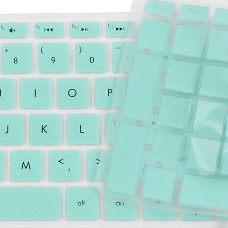 Anti-Dust Keyboard Protector Skin Film Cover Turquoise for HP Pavilion 15 Laptop - image 1 of 2
