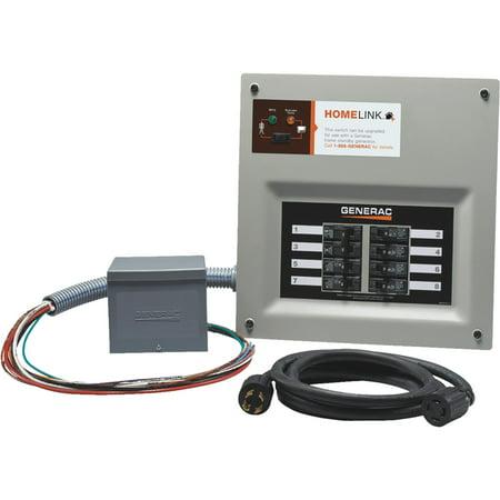 (Upgradable Manual Transfer Switch,Gray GENERAC 6854)