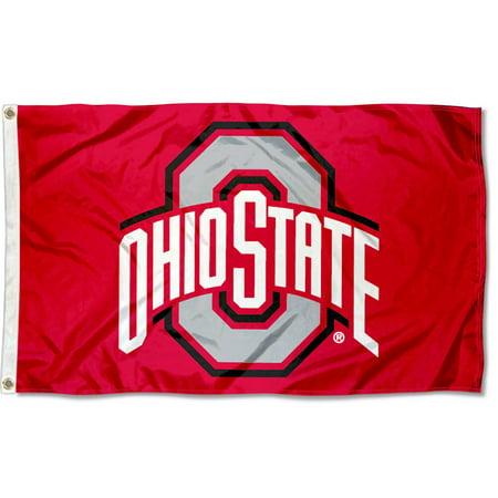 Ohio State University Buckeyes Flag (Ohio State University Horseshoe)