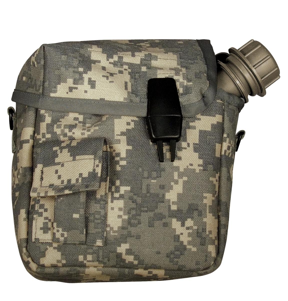 6 Molle II Canteen Pouch ACU  Functional Qty