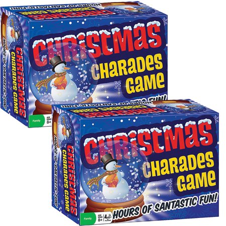 (Set Of 2) Classic Christmas Charades Family Party Game - Holiday Themed](Christmas Party Theme Ideas)