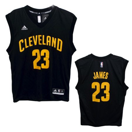 adidas - NBA Cleveland Cavaliers Lebron James  23 Men s Jersey ... 9713eb40b2ad