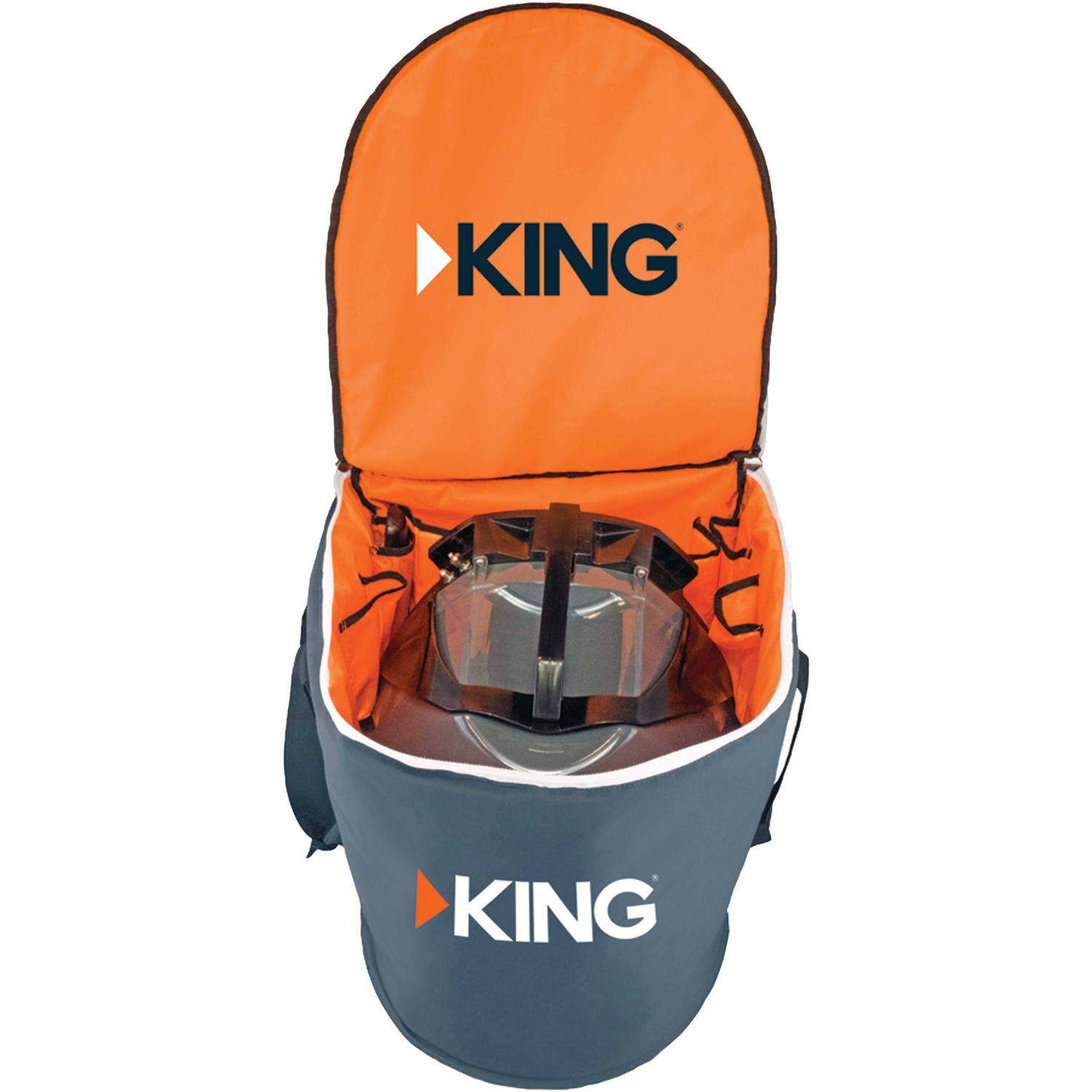 King CB1000 King Quest / King Tailgater Padded Carry Bag For Use With Portable Satellite TV Antenna Models VQ4500, VQ4200, VQ4100