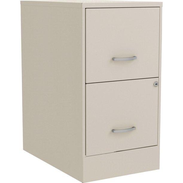 Lorell, SOHO 2-Drawer Steel File Cabinet,