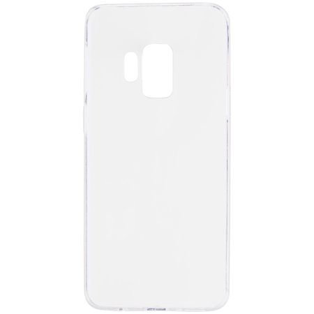 Onn Lightweight Slim Clear Cell Phone Case for Samsung Galaxy S9 ()