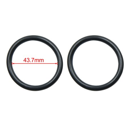 50pcs Black NBR O-Ring Seal Gasket Washer for Automotive Car 43.7mm x 5.3mm - image 1 de 2
