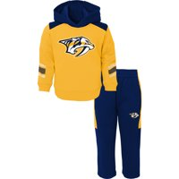 Product Image Nashville Predators Infant Winger Fleece Hoodie and Pants Set  - Gold Navy 70e298148