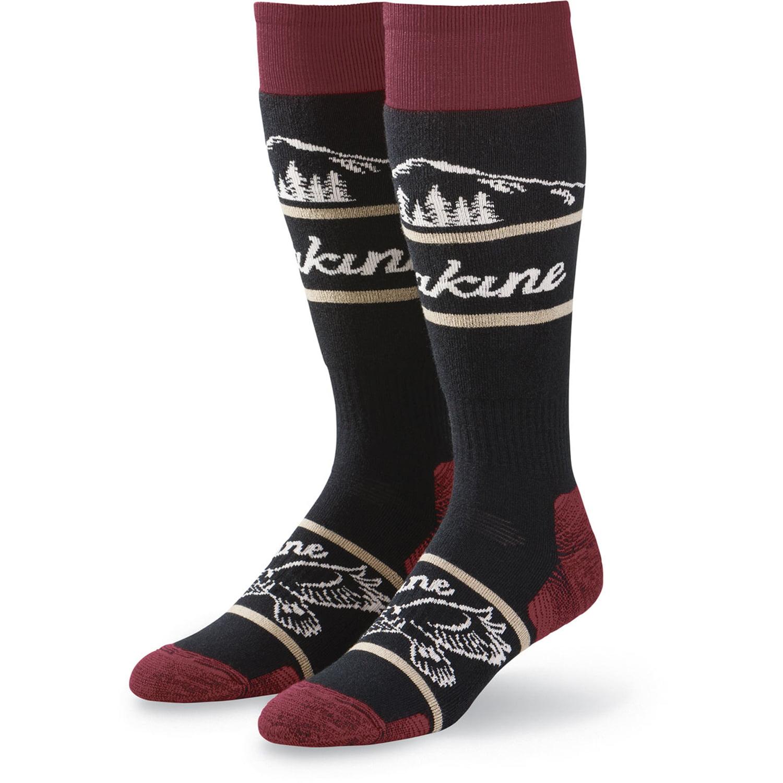 Dakine Freeride (Black) Snowboard Socks-Medium Large by