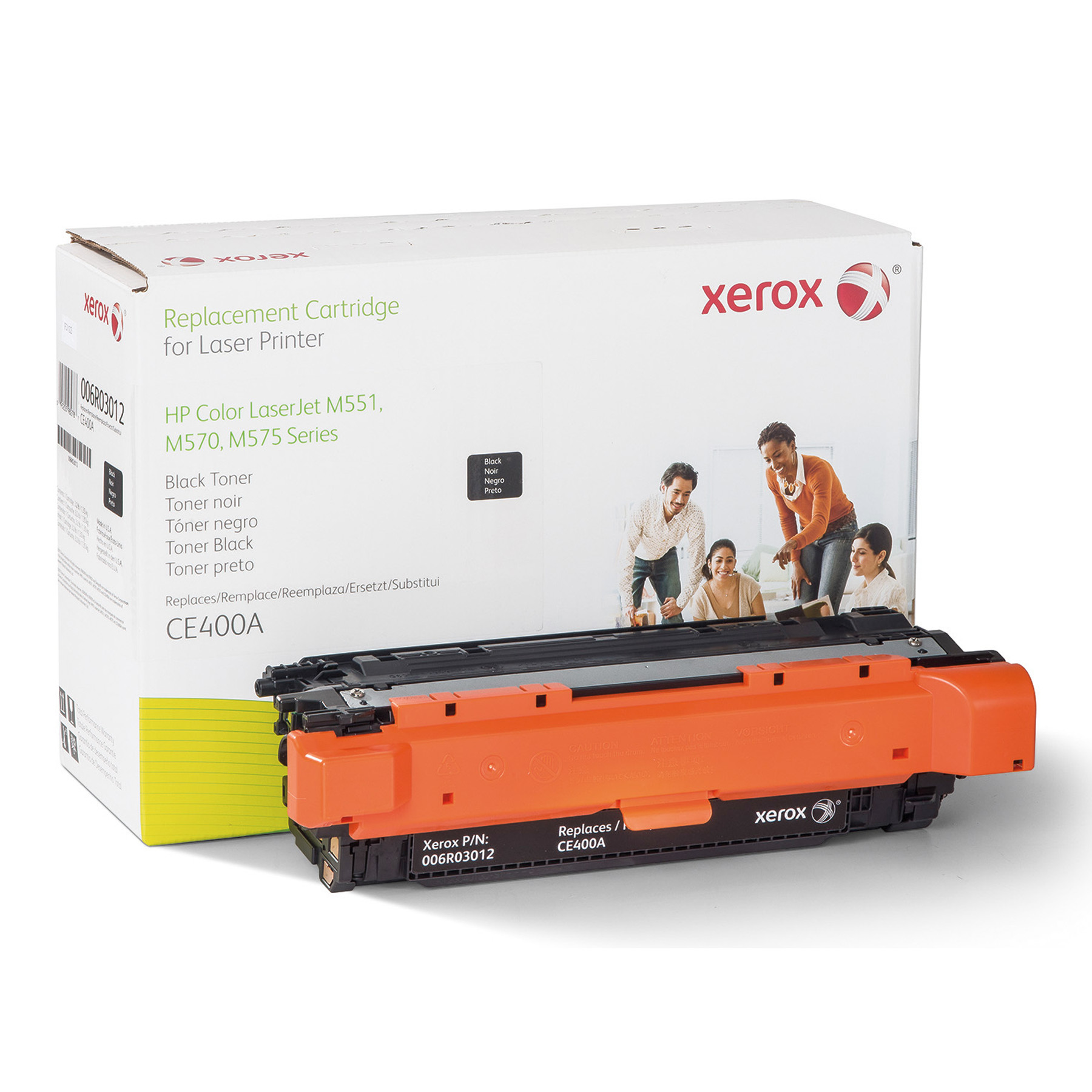 Xerox 006R03012 Replacement Toner for CE400A (507A), Black