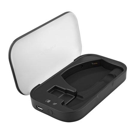 External Handset - Plantronics Charging Case External Battery for Bluetooth Headset Voyager(Black) Certified (Certified Refurbished)