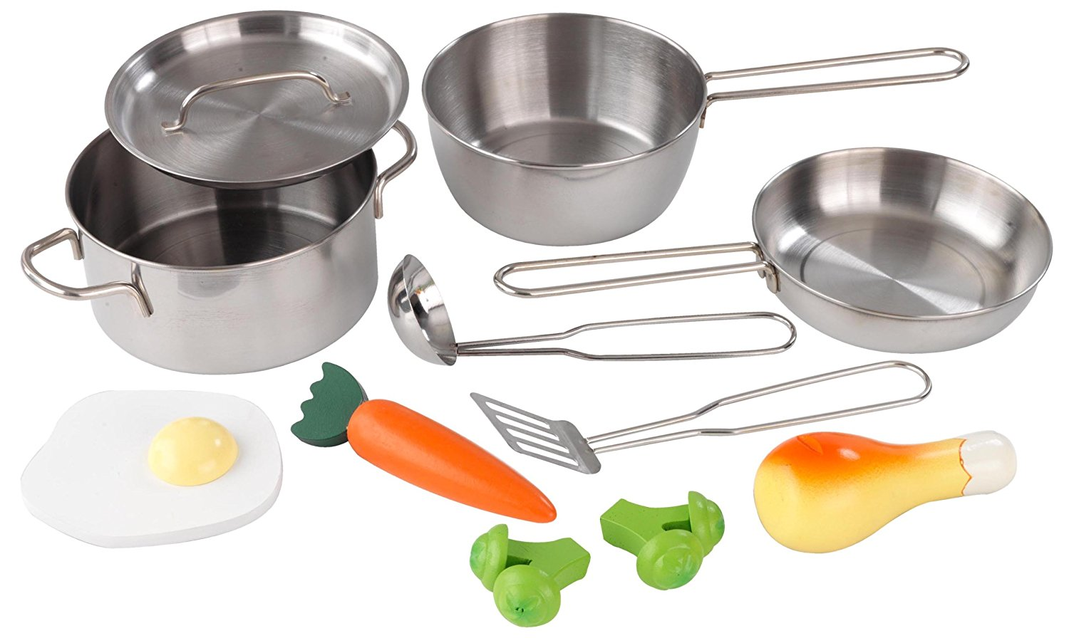 , Deluxe Cookware Set, (11 pieces)..., By KidKraft Ship from US by
