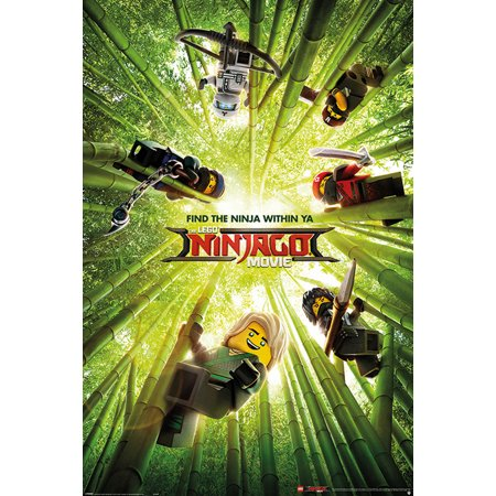 The LEGO Ninjago Movie - Movie Poster / Print (The Ninjas In Bamboo Forest) (Size: 24