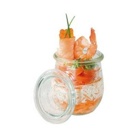 Paderno World Cuisine 41589-22 X12 Mini Glass Jar