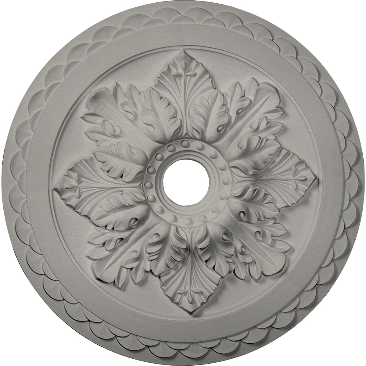 23 5 8 Od X 3 Id X 2 P Bordeaux Deluxe Ceiling Medallion Fits Canopies Up To 4 Hand Painted Flash Gold Walmart Com Walmart Com