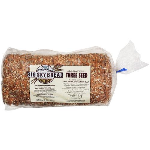 Big Sky Bread Company: All Natural Three Seed Bread, 992 g