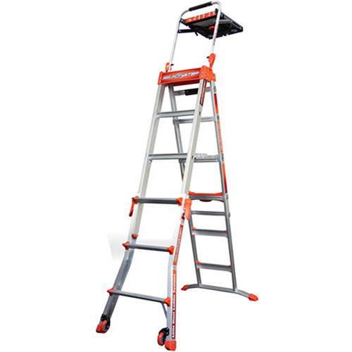 Little Giant Ladders Select Step Type IA Model 4-6 Adjustable Stepladder