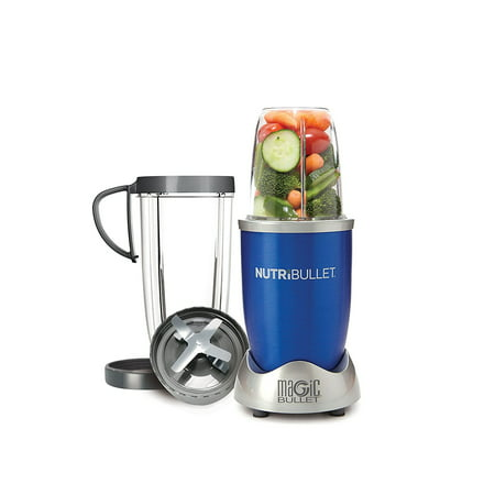 NutriBullet 8-Piece Magic Bullet Superfood Nutrition Extractor, Blue