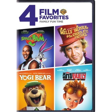 4 Film Favorties: Family Film Fun Time (DVD) - Top Family Halloween Films