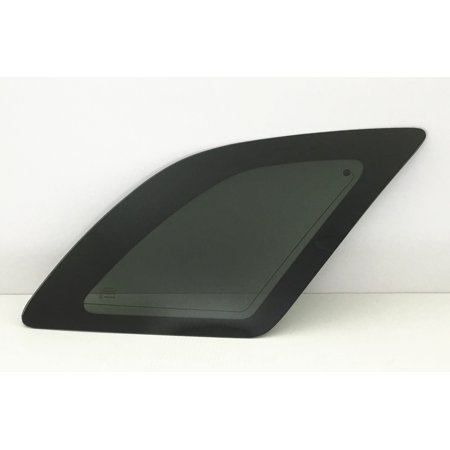 Rear Side Glass - For 2007-2009 Pontiac Torrent 4 Door Utility Passenger/Right Side Rear Quarter Window Replacement Glass