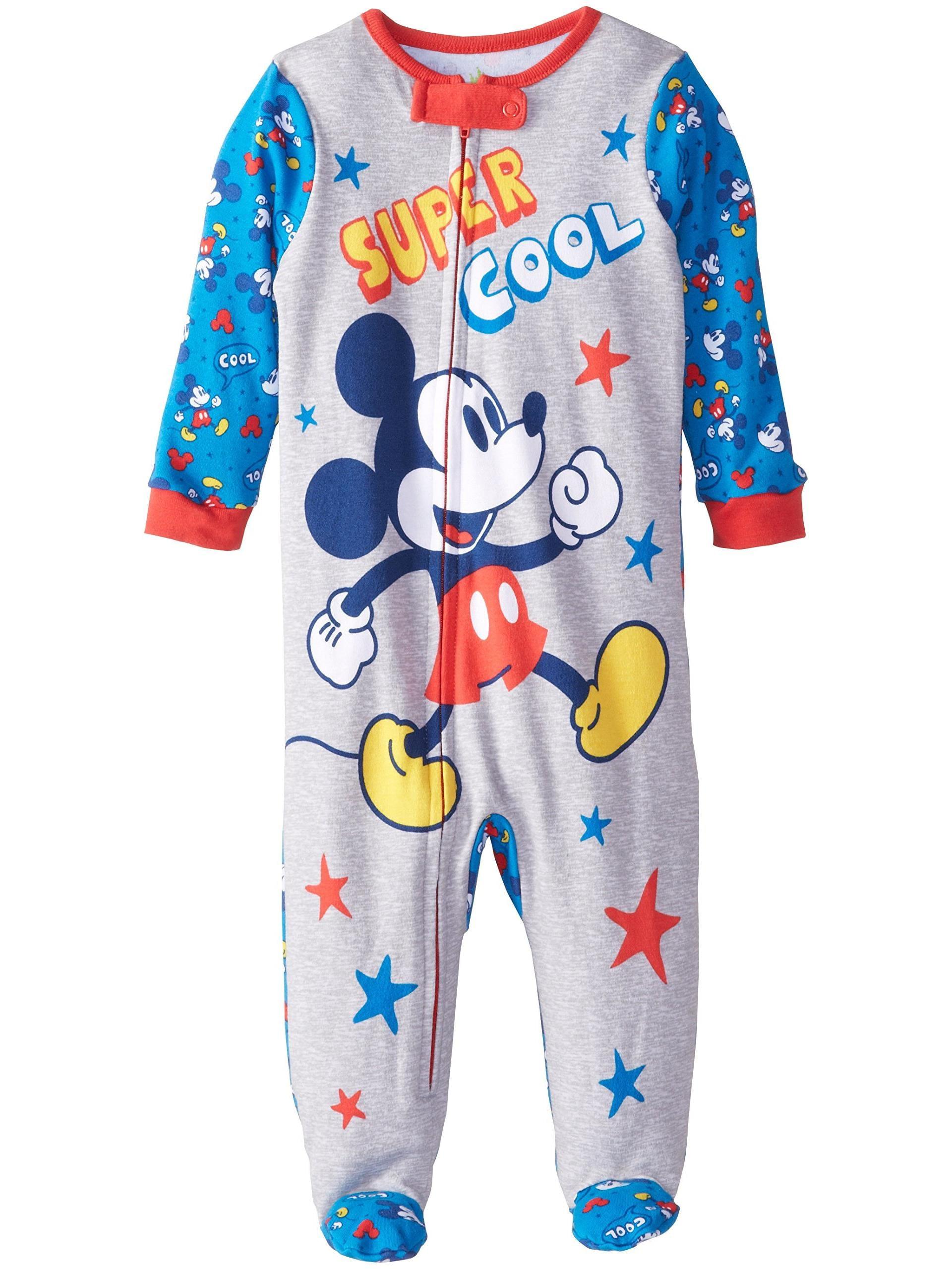 Baby Boys' Mickey One Piece Blanket Sleeper