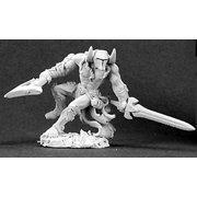 Reaper Miniatures Ilkhan the Bloody #03090 Dark Heaven Legends Unpainted Metal