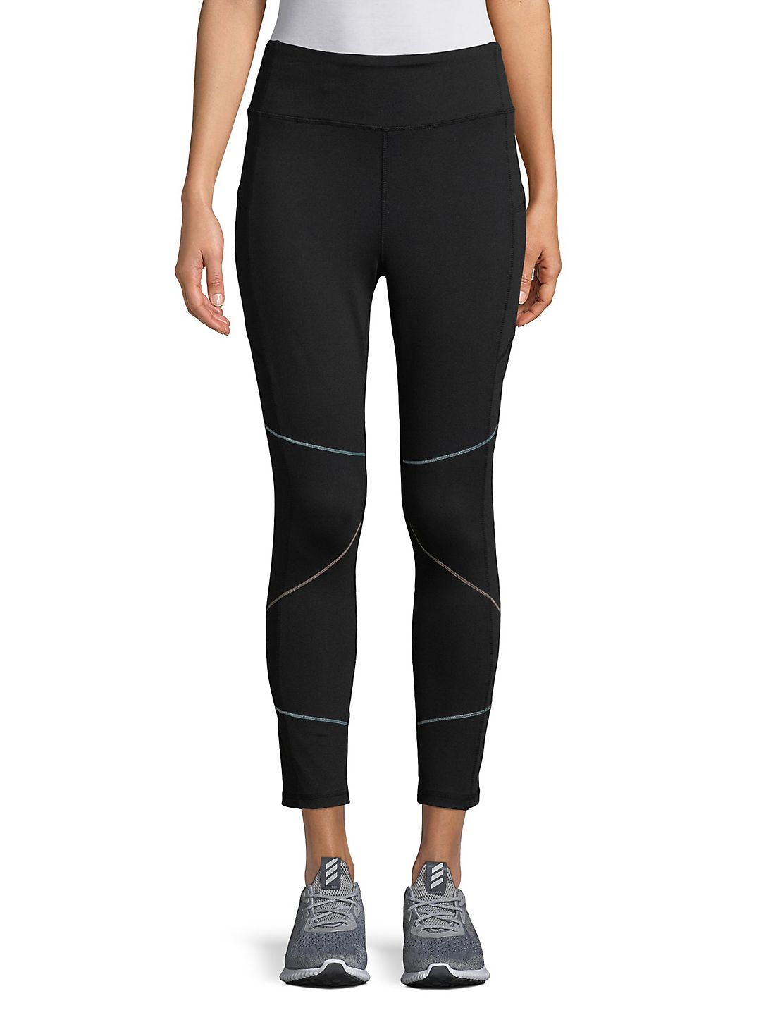 Core Jersey High-Waisted Cropped Leggings