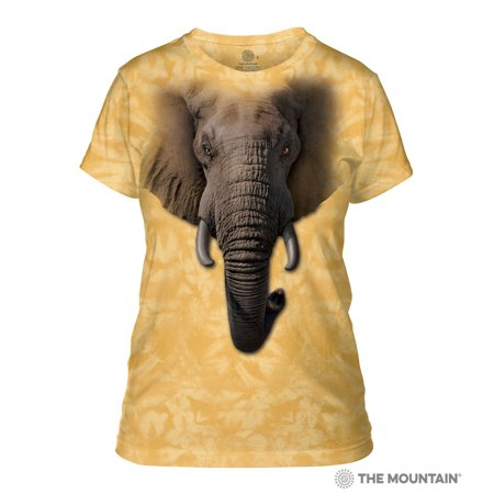 c5cf6e0a1d637 Tuff America - The Mountain ELEPHANT FACE Adult Female T-Shirt - Walmart.com