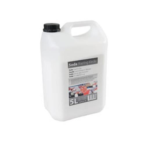 RBL Products RBL-145151 Soda Blasting Media - 5L Bottle