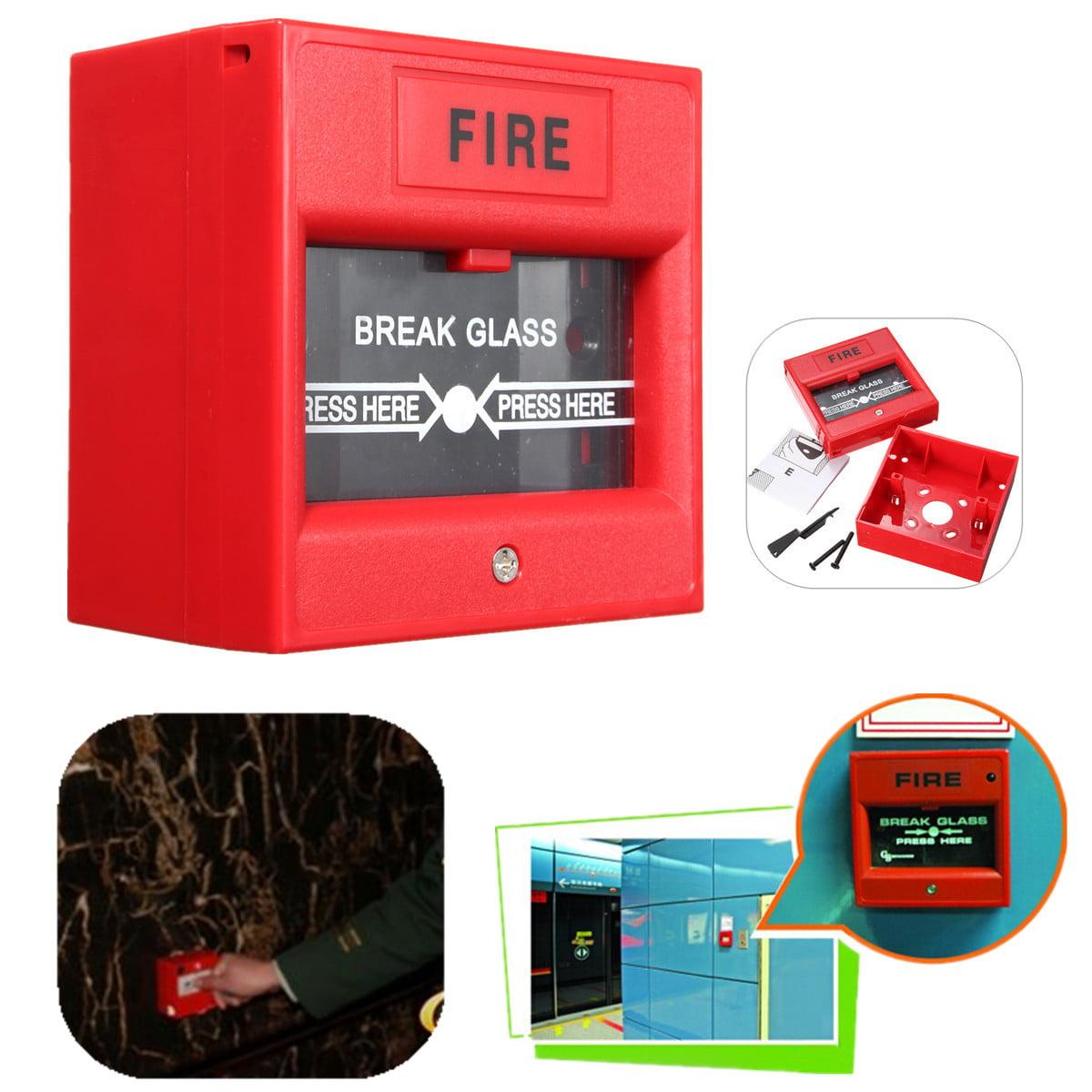 Emergency Door Release Glass Break Fire Alarm Button For Access