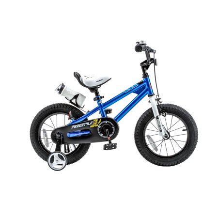 a7798986e11 RoyalBaby Freestyle Blue 16 inch Kid's Bicycle - Walmart.com
