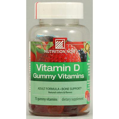 - Nutrition Now Vitamin D Adult Gummy (1x75 Chew)