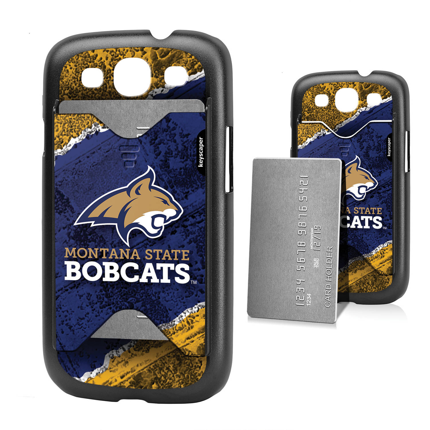 Montana State Bobcats Galaxy S3 Credit Card Case