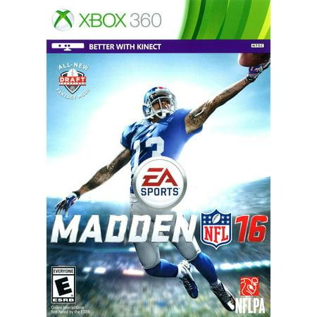 Madden Nfl 16  Electronic Arts  Xbox 360  014633733792